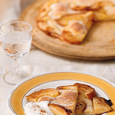 Thin Pear Tart