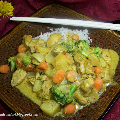 Chinese Chicken Curry