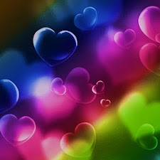 3D colorful heart 11