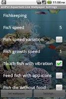 Screenshot of aniPet Aquarium Live Wallpaper