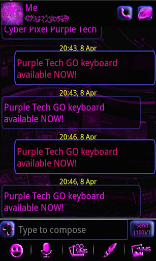 Purple Tech GO SMS Pro