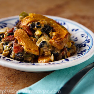 Pumpkin and Black Bean Casserole