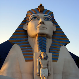 Pharoh by Phil Grierson - Buildings & Architecture Statues & Monuments ( history, las vegas, statue, travel, egypt )