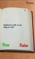 Screenshot of 100 Facts