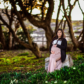 Before you were born I carried you under my heart by Keoua Medeiros - People Maternity ( maternity, monterey, california, maternityportrait, keouamedeirosphotography )