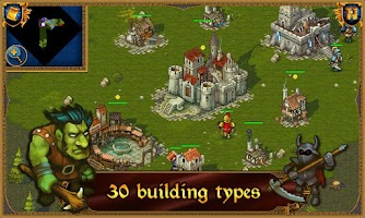 Screenshot of Majesty: Fantasy Kingdom Lite