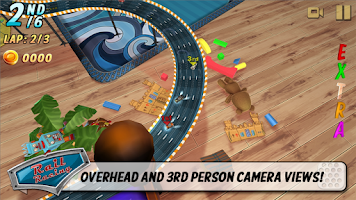 Screenshot of Rail Racing