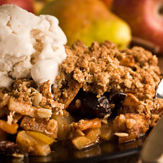 Fall Pear & Apple Crisp