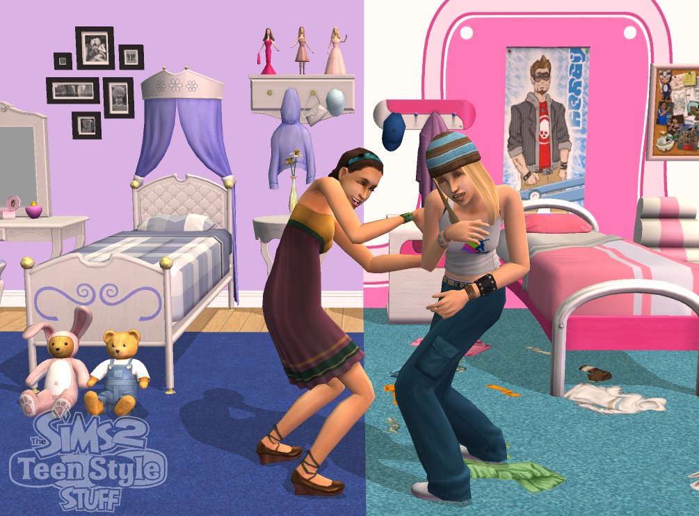 The Sims 2 Teen Style Stuff