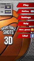 Screenshot of Basketball Shots 3D (2010)