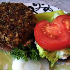 Spicy, Low-Fat Veggie Burgers (Vegan, Gluten-Free, Soy-Free