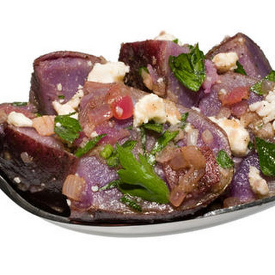 Marinated Purple Potatoes