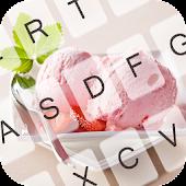 Free Pink Ice Cream Keyboard Theme APK for Windows 8