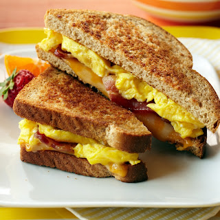 Bacon & Egg Breakfast Grilled Cheese