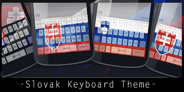 Slovak Keyboard Theme - screenshot
