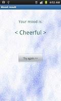 Screenshot of Mood Scanner