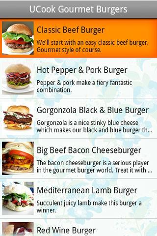 UCook Gourmet Burgers