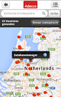 Screenshot of Adecco Nederland