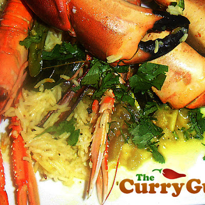 INGREDIENTS for Langoustine and Crab Curry