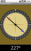 Screenshot of Steady compass