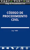 Screenshot of Colombia Civil Procedure Code