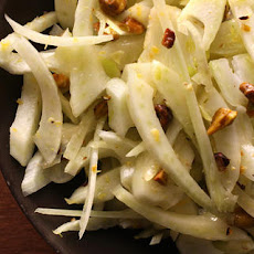 Shaved Fennel and Pistachio Salad