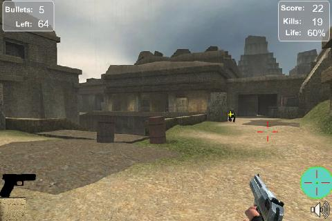 sniper-warrior for android screenshot