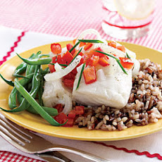 Cod Fillets with Horseradish Sauce
