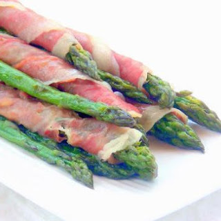 Prosciutto-wrapped Asparagus Canes - pressure cooker