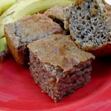 Banana Cinnamon Snacking Cake