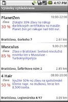 Screenshot of MOBIKA - ZlavoMapa
