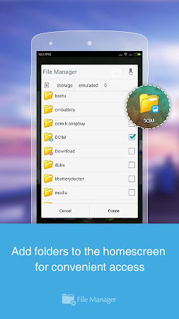 File Manager (File transfer) 2.5.2 screenshot 537605