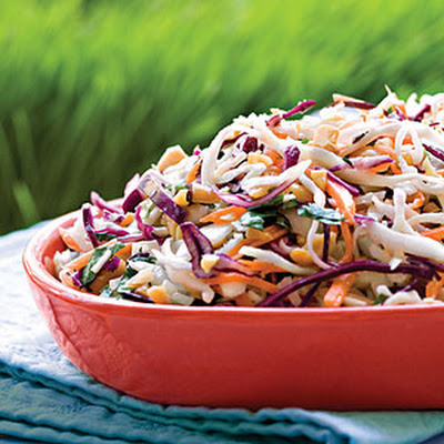 Peanutty Coleslaw
