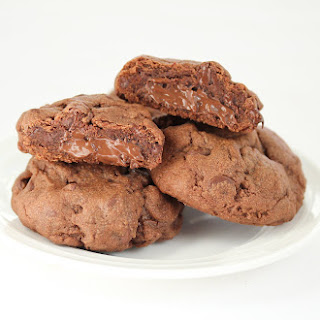 Nutella Lava Cookies