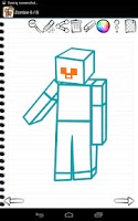 Screenshot of Draw Minecraft Edition