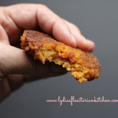 Red Lentil and Bulgur Patties