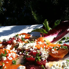 Blood Orange, Mint and Feta Salad