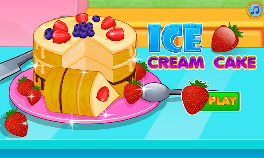 Cooking Ice Cream Cake Game - screenshot