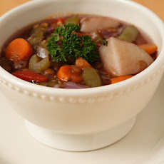 Italian Lentil and Vegetable Soup
