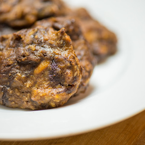 Coconut Chocolate Sweet Potato Cookies!