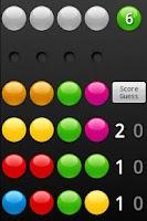 Screenshot of Code Breaker (MasterMind)