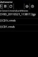 Screenshot of ffmpeg codec arm v6