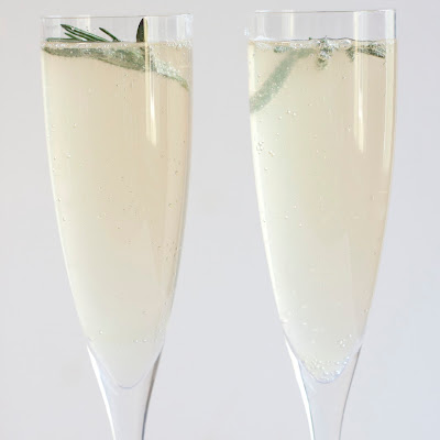 Rosemary Lemon Sparkler