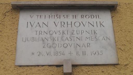 Rojstna hiša Ivana Vrhovnika