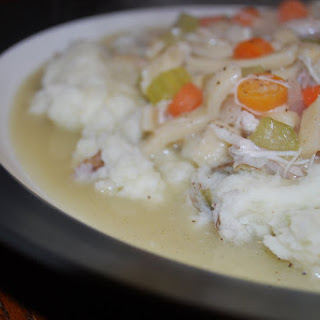 Chicken Noodles Mashed Potatoes Recipes