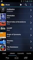 Screenshot of Subsonic Music Streamer