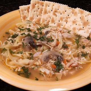 Thrown Together Chicken Noodle Soup