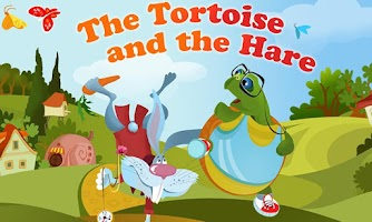 Screenshot of The Tortoise & Hare Storybook