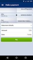 Screenshot of BNZ Mobile