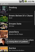 Screenshot of Album Art Grabber